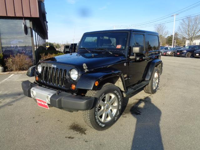 Pre Owned 2012 Jeep Wrangler Sahara Convertible In Bangor Cb13424