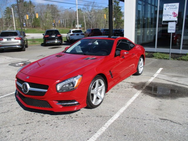 Pre-Owned 2013 Mercedes-Benz SL 550