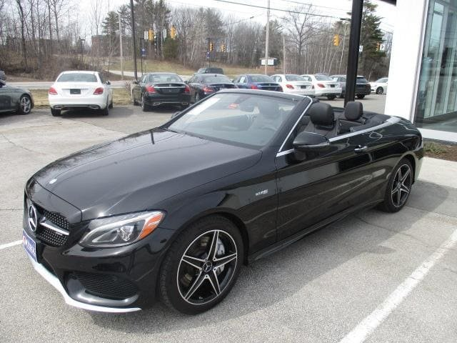 Certified Pre-Owned 2017 Mercedes-Benz AMG® C 43 4MATIC Cabriolet